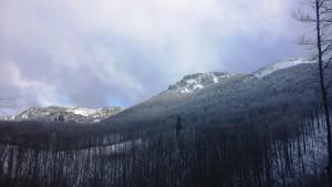 Snježnik - zimski uspon (1)